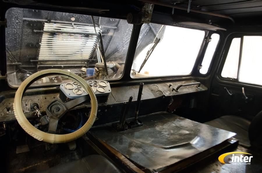 ГАЗ-66 Партизан_руль